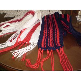 Bufandas Tejidas A Mano - Dos Agujas O Crochet