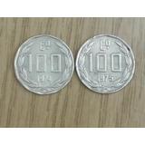 Monedas Chilenas De 100 Escudos Años 1974 - 1975