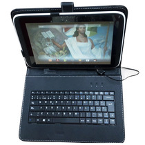 Funda Con Teclado Qwerty Para Tablet 10.1 Compatible Sep Mx