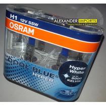 Kit Lampada Original Osram H1 Cool Blue Hyper 5000k
