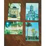 Cartões Postais Capivari-sp Anos 80 Lote De 4