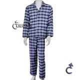 Pijama Masculino Aberto Flanela Gola Paletó Candisani - 4510
