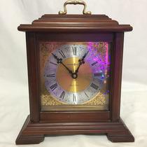 Hermoso Reloj Howard Miller Original Madera Quartz