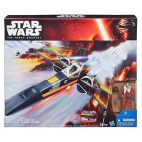 Nave X-wing De Poe Dameron Star Wars Episodio 7 Hasbro Nueva