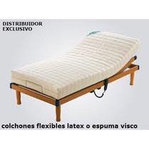 Colchon P/ Cama Articulada Ortopedica Auping- Latex - Espuma