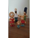 Familia Simpson Completa.plastico Duro.