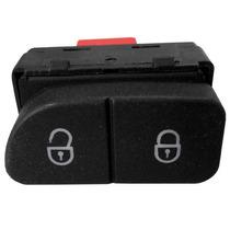 05 Peças Botão Interruptor Vidro Elétrico Trava Gol G5 G6