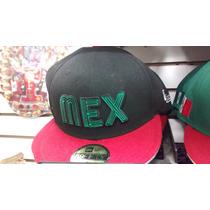 Gorra Mexico 7 1/2 New Era Negro Rojo