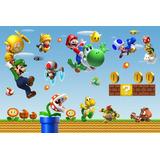 Painel Decorativo Festa Infantil Super Mario Bross (mod1)