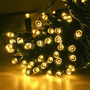 Luces De Navidad De 100 Led Cable Verde En Oferta!!!