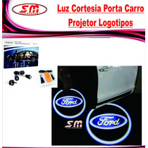 Luz De Cortesia Projetor Logomarca Ford Fiesta Focus Ranger