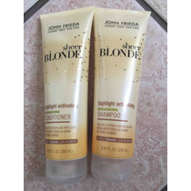 John Frieda Sheer Blonde *kit Shampoo+condicionador*