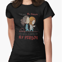 Playera O Camiseta Greys Anatomy You Are My Person Nuevo