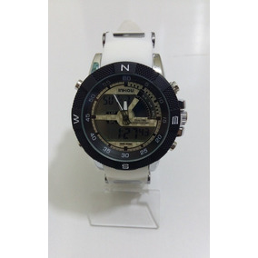 Relógio Masculino Esportivo Digital/analógio Bonito Elegante