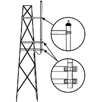 Smk150hd Kit Para Montaje Lateral En Torre, Antenas Vhf Seri