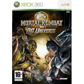 Juego Xbox 360 Mortal Kombat Vs Dc Universe Ntsc Español