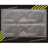 Calcomania 4x4 Para Chevrolet Silverado Precio Por El Par.