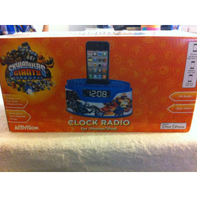 Skylanders Giants Iphone Ipod Dock Clock Radio