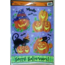 Halloween Calcomania Para Ventana,decorativas, Stickers