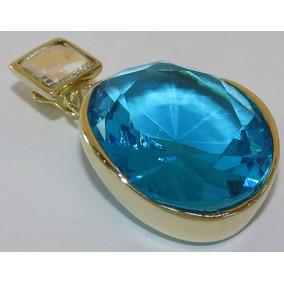 9305b2ea00b9f 1.3gr Pingente Ouro 18k Com Cristal Transparente Jacaré - Joias e ...