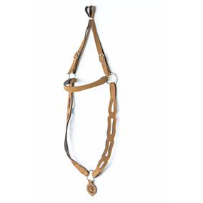 Peitoral Cavalo Crioulo Couro Montaria Rodeio Laço Comprido