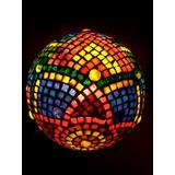 Lampara Con Venecitas - Diseño Unico - Mosaico