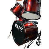 Bateria Musical Profesional Completa Greggs Percussion 5 Pzs