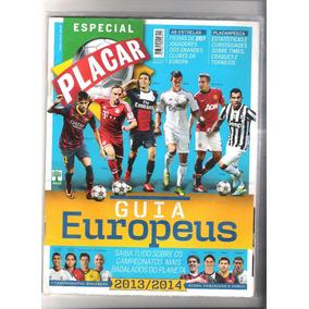 Revista Placar Guia Europeus 2013/2014. Edição N° 1382-a