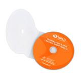 Cajas Estuches Shell Plásticas Cd Dvd Transparentes