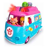 Pinypon Muñecos Auto Ambulancia Luz Mascotas En Smile