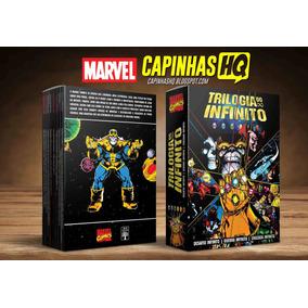 Caixa Box Luva Trilogia Do Infinito - Abril Jovem - Marvel