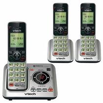 Telefono Inalambrico Vtech Triple Dect 6.0 Cs6629-3 Contesta