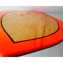 Skimboard Glow Decoracion Fluorecente Flat Land Skate Surf