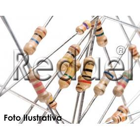 1000 Resistor De 1/4w Cr25 Resistor De Carbono Para Led Pic