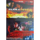 Dvd Lacrado Duplo Anjos Do Inferno / Rajada De Sangue