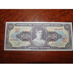 Cédula De 50 Cruzeiros - Para Colecionar