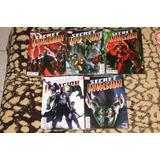 Secret Invasion #1-5 Iron Man Spider-man Batman Civil War