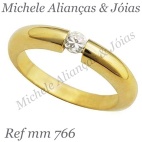 93a096a0f5c Par De Alian As Ouro 9k Anat Mica 15 E Desconto 21diamonds ...
