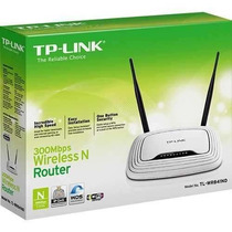 Roteador Wireless Tp-link Tl-wr841 300mbps - 2 Antenas 5 Dbi