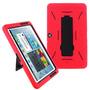 Rojo Galaxy Tab 2 10.1 P5110/p5100/p5113 Funda Para Samsung