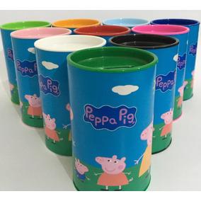 30 Cofrinho De Papelão 6x10 Peppa Pig