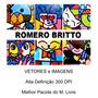 Pacote Romero Brito 90 Imagens Vetores Alta Definiçao