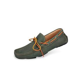 Zapatos Mocasines Casuales Mega 1672 Gris