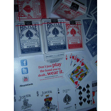 Naipe Bicycle Original Trucos Magia Cartas Barajas Cards Usa