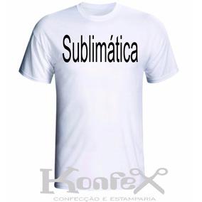 Kit Com 5 Camisetas Sublimação Tamanhos Grandes G1-g2-g3-g4