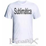 Kit Com 20 Camisetas Lisas Para Sublimação (100% Poliéster)