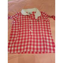 Camisa Lacoste Nena Talle 2