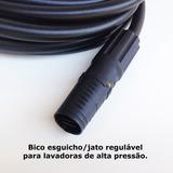 Bico Jato Regulável + 04 Mts Mangueira Nylon Karcher K 2.200