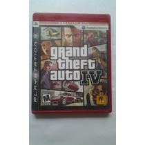 Ps3 Grand Theft Auto Iv $275 Pesos - Seminuevo V/c