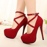 Lindo Sapato Feminino Salto Alto Importado Frete Grátis